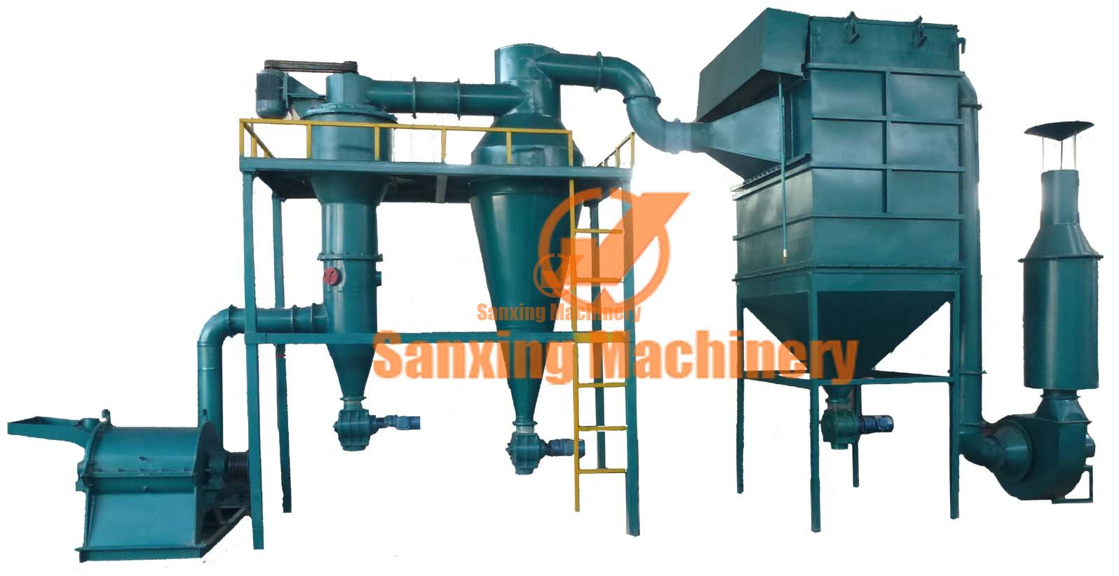 Fineness wood powder making machine
